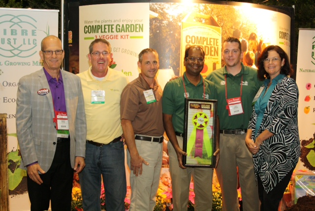 FibreDust Gets Special Recognition Booth Award at Florida's 2014 FNGLA Show