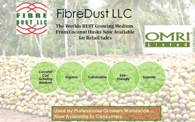 Coconut Coir Packaged for Independent Garden Retailers