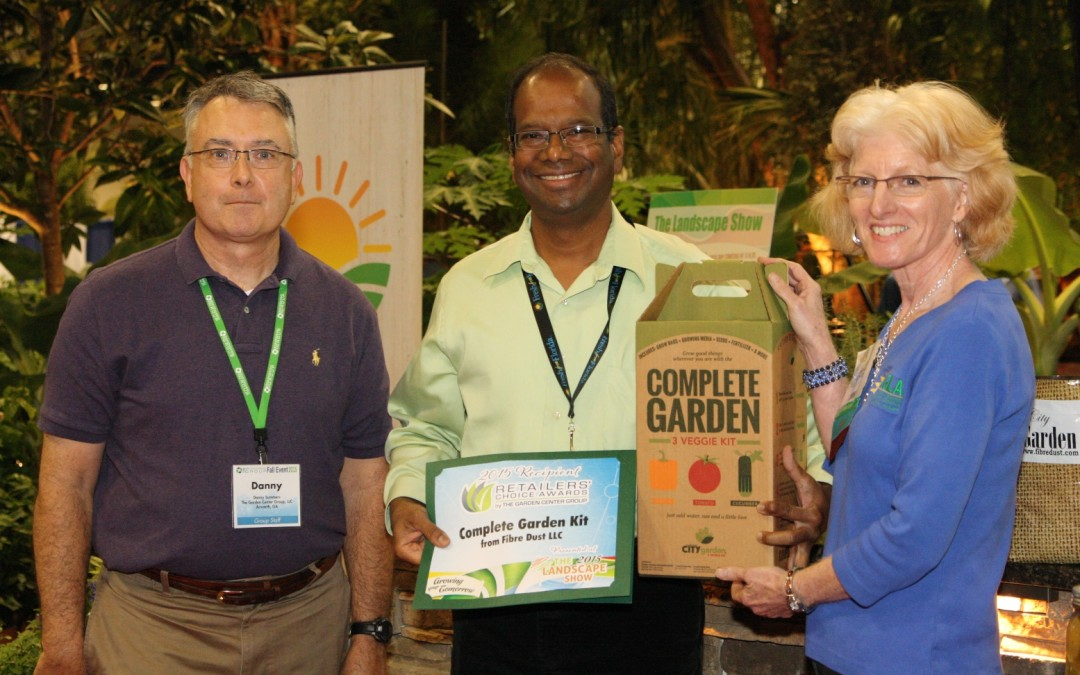 Fibredust Receives Retailers Choice Award For The City Garden