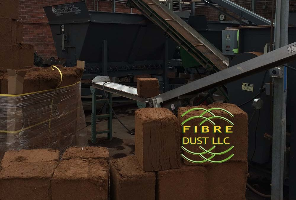 FIBREDUST LLC INTRODUCES BAGGING LINE, BAGGED COIR BLENDS