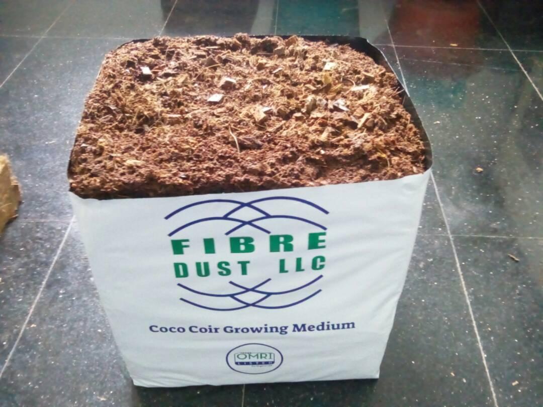 Upright Coco Coir Grow bags | Fibredust